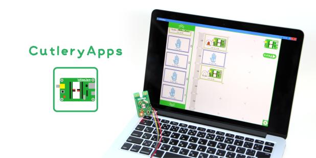 多くの声にお応えして、大人気「カトラリーアップス」のiOS版リリース!カムロボだって無線でカード型プログラミングできます。アプリは無料、ぜひどうぞ!
