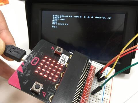 micro:bitへのIchigoLatte移植に成功!ラップトップやタブレットいらずの「ichigo:bit」シリーズ、はじまります!