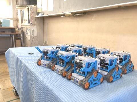 いよいよコンピュータはリコーダーの域に到達!IchigoJam BASICによるロボット自動運転をする松田校長 小金井市立前原小学校の4年生!