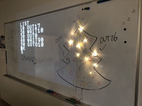プログラミングの真骨頂「数の箱」でクリスマスツリーをよりゴージャスに!Let's meet tomorrow in HongKong!