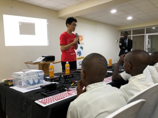 "PCN Rwanda ""Kigali Club"" has OPENED!! / PCNルワンダ 「キガリクラブ」オープン!"