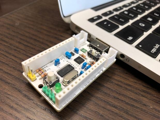 さすだけ簡単 IchigoKamuy !¥100センサーで作るモバイル物体検知ソナー!
