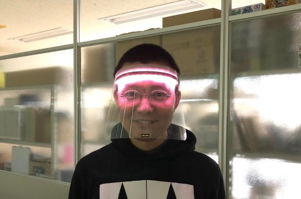 """ドクター中松「スーパーメン」に""""エモみ""""を、IchigoJamによる次世代マスク「SUPER M.E.N. EMO」登場!"""