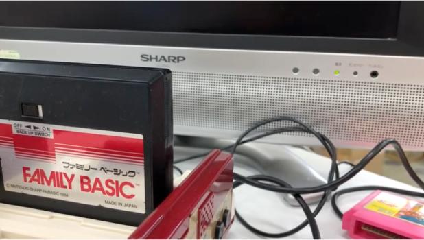 音をデータ媒体に!FAMILY BASICの保存サウンドをYoutubeにアップロード!