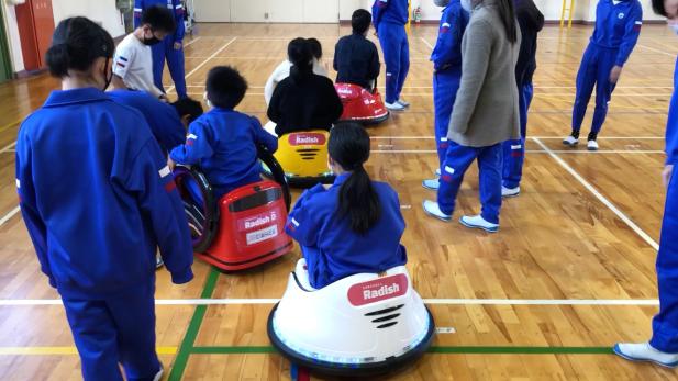 IchigoJam×(カムロボ + Radish + ドローン) で福井をバージョンアップ!かるがも歩きは超かわいいっ!
